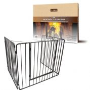 Gated stove guard (black) DEV621